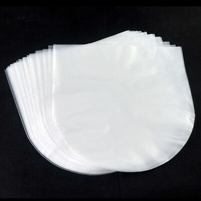100X Antistatic Clear Plastic Cover Inners Sleeves For 12'' LP LD Vinyl Records