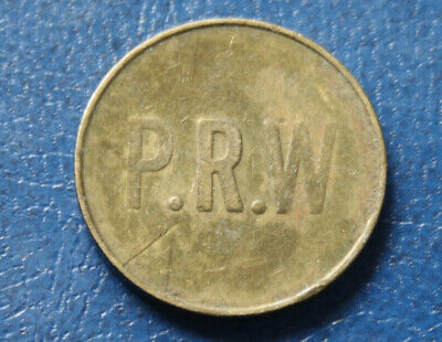 P.r.w  Token Same Both Sides  Circulated Scarce  #Pfr40