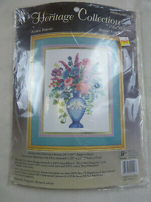 Heritage Collection Floral Tapestry Kit New RRP $89.95