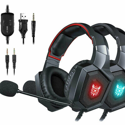 ONIKUMA K8 3.5mm Gaming Headset with Mic LED Headphones for PS4 Xbox one PC