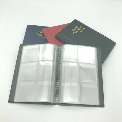 60 Pockets Coin Holders Collecting Album Storage Coin Collection Supplies~z