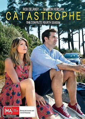 Catastrophe Series 4 DVD Region 4 NEW // PRE-ORDER for 05/06/2019