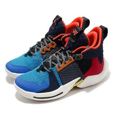 differently fbb3f 81f87 Nike Jordan Why Not Zer0.2 GS Multi-Color Russell Westbrook Kid Women AO6218
