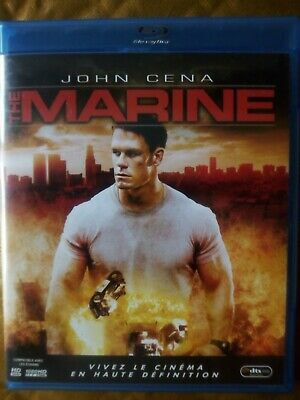 blu ray du film d'action THE MARINE