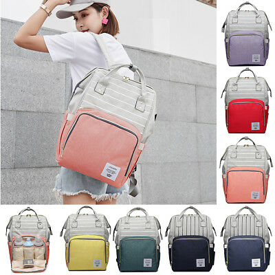 Mother Maternity Diaper Changing Backpack Baby Mommy Stroller Nappy Nursing Bag