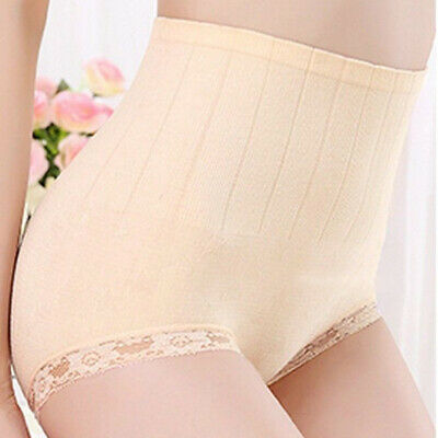 Women High Waist Body Shaper Slim Tummy Control Shapewear Panties Underwear