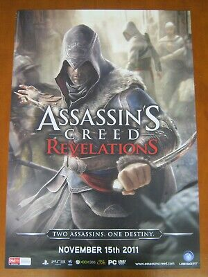 Assassins Creed-Revelations 2 Sided Promo Poster-Ps3/Xbox360