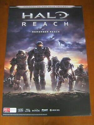 Halo Reach-Large 2 Sided Promo Poster-Xbox360