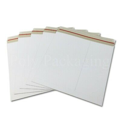 "50 x 12"" LP Cardboard Record Mailers RIGID Album Vinyl for Royal Mail Postage"