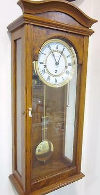 William Widdop 8 Day Regulator Mechanical Wind Up Wall Clock Westminster Chime