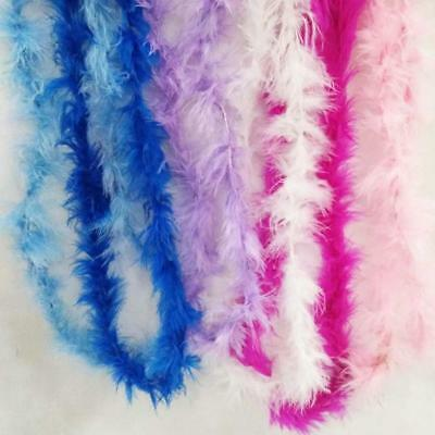 Feather Boa Stripe Fluffy Party Costume Fancy Dress Up Craft Party Weddin