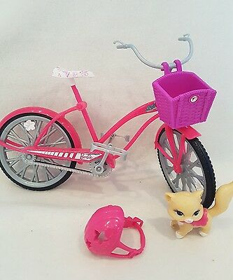 Barbie dolls Bicycle Bike Toy with Accessories new* rare