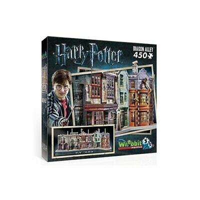 Hogwarts: Diagon Alley 3D Puzzle (450Pc) - Brand New & Sealed