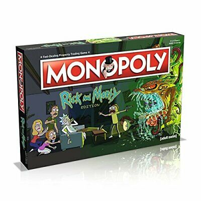 Rick & Morty - Monopoly - Brand New & Sealed