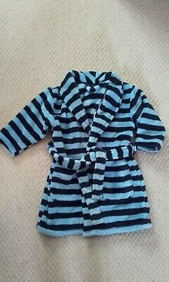 Next Boy Dressing Gown Age 2 - 3 Years Excellent Condition