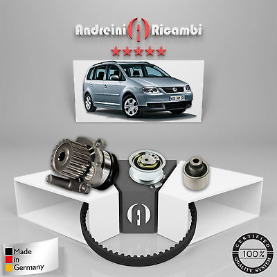 Distributionskit+Wasserpumpe VW Touran 1.9 Tdi 74kw 100cv 2008->