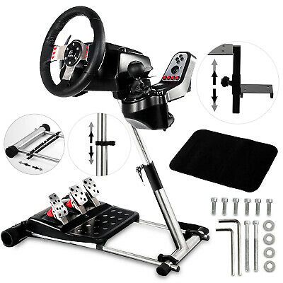 Racing Simulator Steering Wheel Stand Frame Pro Cockpit G29 for Logitech G25