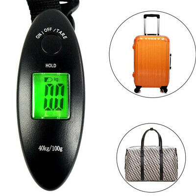 Portable High Precision Electronic Digital Luggage Scale For Travel 90lb 40kg