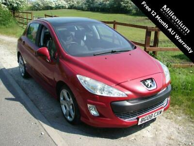 2008 (08) Peugeot 308 2.0 Gt Hdi 5Dr