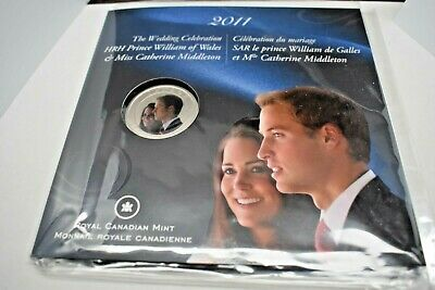12808 William and Catherine 2011 Colorized 25-Cent Coin Wedding Celebration