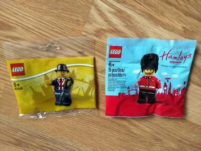 Free Shipping - LEGO 5005233 Hamleys Royal Guard & 40308 Lester - Polybag - BNIP