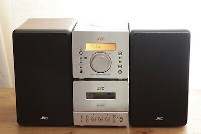 Bookshelf JVC UX-D88 Micro Hifi Radio With Speakers