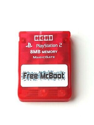 FMCB (Free McBoot) Version 1.966 / Sony PlayStation 2 / PS2 8MB Memory Card