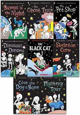 Funny Bones 8 Books Collection Set