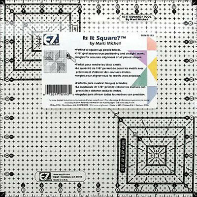 "EZ Quilting Is it Square? Ruler - 10.5"" Quilting Template"