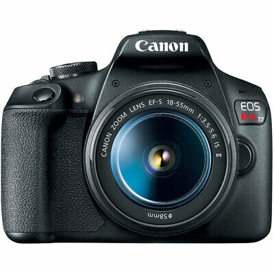 Canon EOS Rebel T7 24.1MP DSLR Camera with EF-S 18-55mm IS II Lens