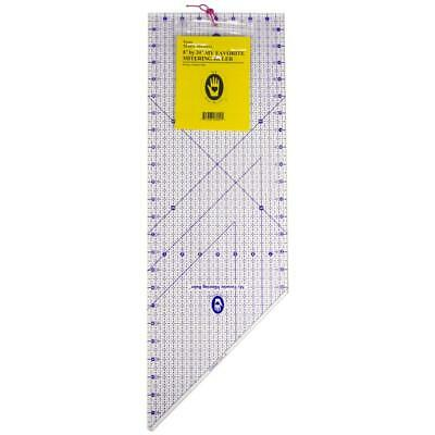 """Marti Michell My Favorite Mitering Quilting Rule - 8"""" x 24"""""""