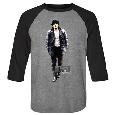 Rocky Balboa Sylvester Stallone Whole Life Men's Raglan Shirt Boxing Champion