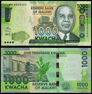 Africa 66 Selling Well All Over The World Malawi 500 Kwacha 2014 Unc P Coins & Paper Money