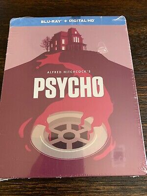 Psycho Steelbook (Blu-ray Disc, 2014, Limited Edition) FACTORY SEALED!