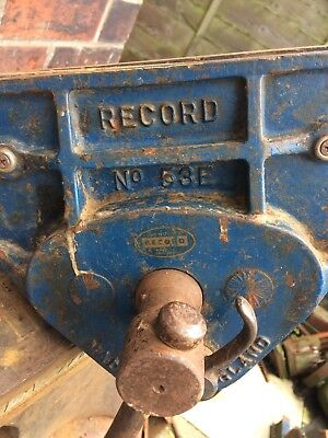 Record 53E Woodworking Vice Quick Release Ten And Half Inch Jaws