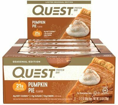 Quest Nutrition Protein Bar | 2.5 OZ | Pumpkin Pie!