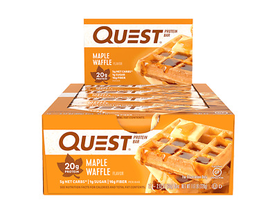Quest Nutrition Protein Bar | 2.5 OZ | Maple Waffle!