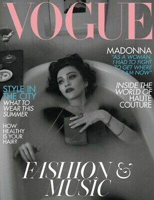 Madonna Vogue Magazine British Edition June 2019 UK