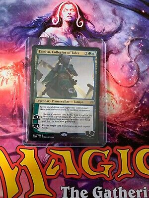 Mtg- Tamiyo, Collector Of Tales- Rare Planeswalker!!- War Of The Spark