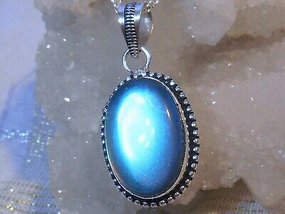 SOUL OF LIGHT MYSTIC TOPAZ PENDANT 925 STERLING SILVER OVERLAY NECKLACE Gift