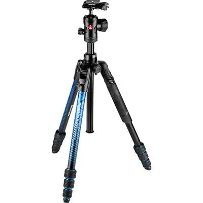 Manfrotto Befree Advanced Travel Tripod Twist with Ball Head - Blue
