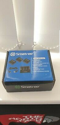Gopro Hero 4 Smatree Batteries 3 pack with charger