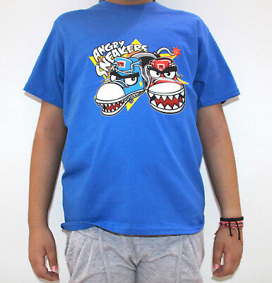T-Shirt Boys Angry Birds Sneakers Club Slogan Ping Little Crazy Youth Tee Funny