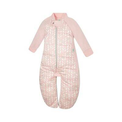 NEW ergoPouch Sleep Suit Bag 3.5 tog - Spring Leaves 2-4 Years Free Shipping