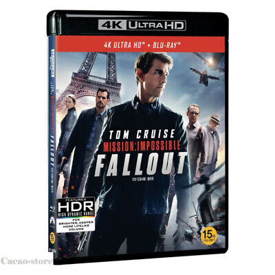 Mission: Impossible - Fallout ( 2Disc : 4K UHD + Blu-ray )