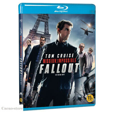 Mission: Impossible - Fallout ( Blu-ray ) Tom Cruise / Region A