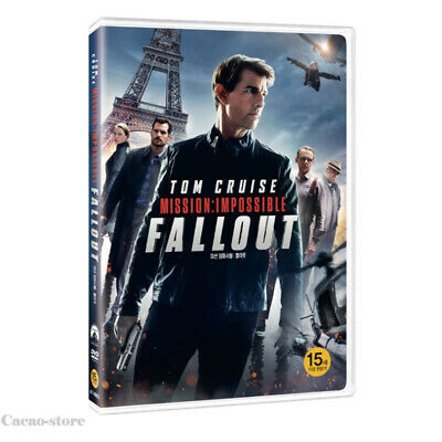 Mission: Impossible - Fallout ( DVD ) Tom Cruise / Region 3