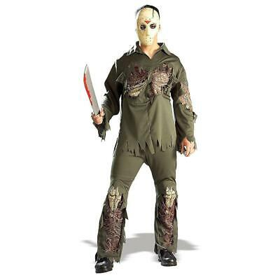 Friday The 13th Jason Super Deluxe Adult Costume Standard