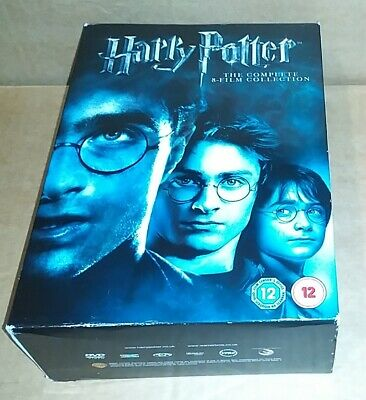 Harry Potter - Complete 8 Film Collection (DVD)