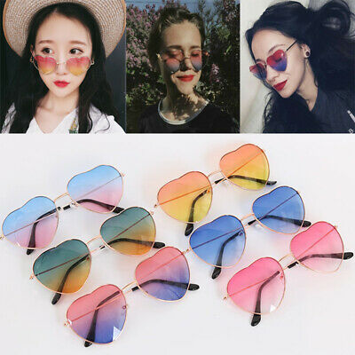 Sunglasses Womens Heart Shape Festival Lolita Style Fancy Party Eyewear Glasses